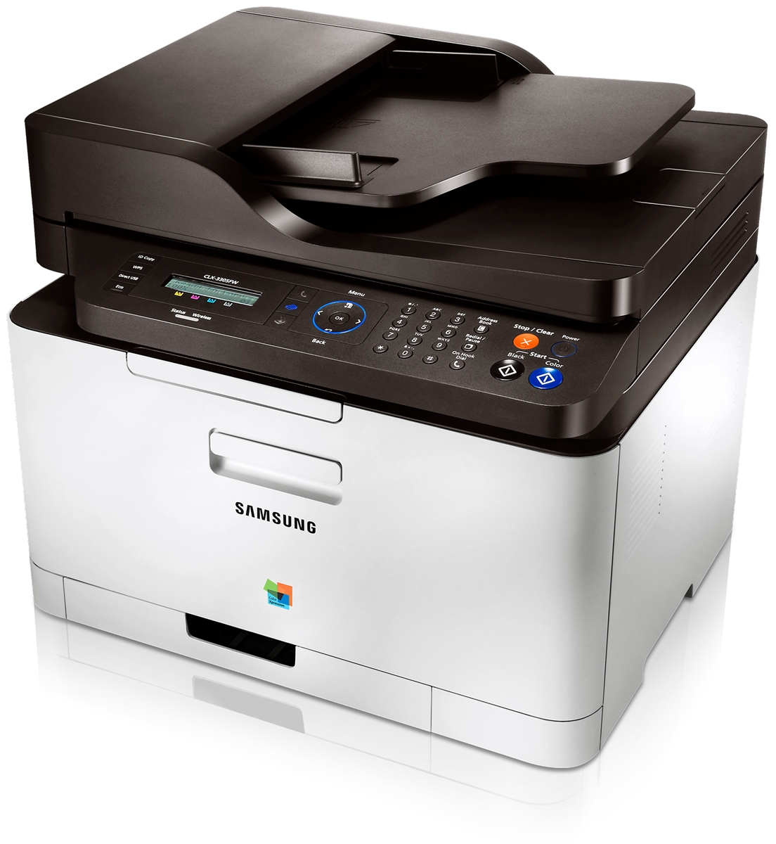 To create fix firmware reset for printers Samsung CLX-3300/ CLX-3303 / CLX- 3305 / CLX-3305W / CLX-3305FN / CLX-3305FW necessary to know printer series  (SN)